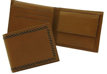 Leather wallet  Cangurione 1211-004 DP Tan