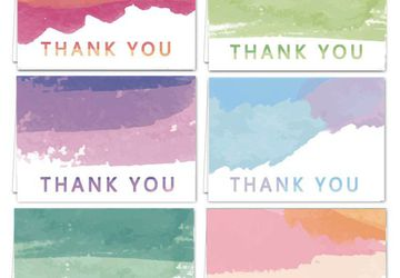 Thank you cards for wedding baby shower bridal shower and all occasions