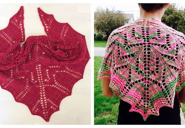 Knit Class: Intro to Lace: '198 Yards of Heaven' Shawlette