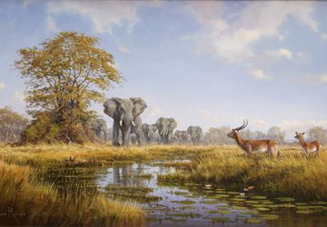 """A painting """"Savanna"""""""