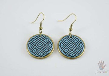Portuguese Montanhac Round Earrings - BCDM-0-12