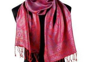 Handmade Cashmere (Pashmina) Scarf - Available in Assorted Colors