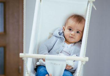 Byel Calm baby swing hammock. Baby calmer
