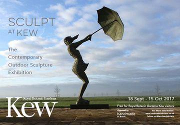 Contemporary outdoor sculpture exhibition