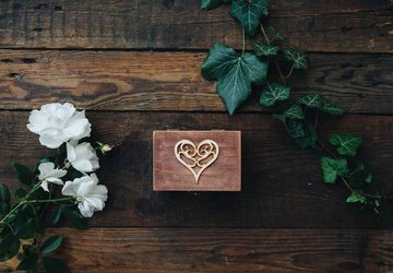 Wooden keepsake/ jewelry /memory box