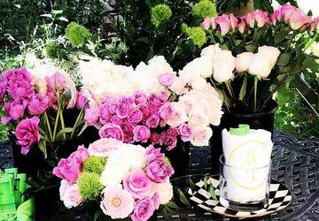 Monograms, Mimosas & Magnificent Blooms at Pinspiration!