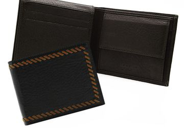 Leather wallet  Cangurione 1211-002 DP Brown