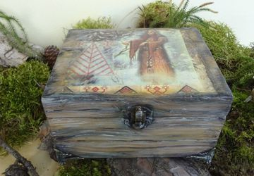 "Casket ""The call of the past"""