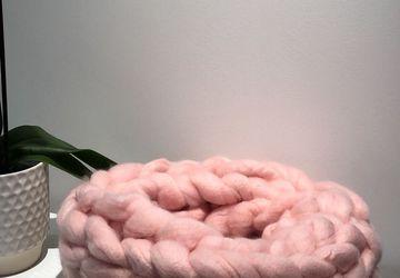 Super Chunky Vegan wool infinity scarf