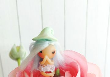 Art doll / gnome girl