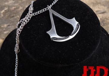 Assassin's Creed - Assassin's Creed Necklace - Assassin's Creed Pendant - Assassin's Creed Jewelry - Jewelry for Men - Jewelry for Women