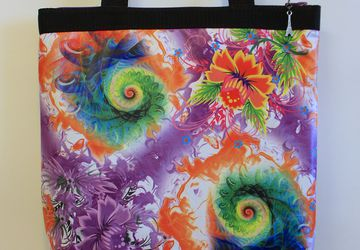 """Textile shopping bag """"Spring"""""""