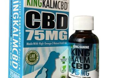 75 mg CBD for Small Dogs and Cats | King Kanine