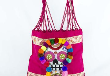 Embroidered Tote Bag | Mexican Bag For Women