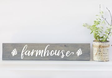 Rustic Signs, Small Farmhouse Sign, Wood Wall Art, Farmhouse Decor, Farmhouse Sign, Gifts for Her, Gifts Under 30, Farmhouse Wall Decor
