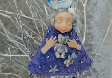 "A doll ""Shooting star shower"""