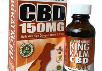 Dog CBD Oil from King Kanine | 150mg for Medium-Sized Dogs