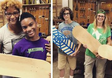 KIDS Workshop - Skateboards