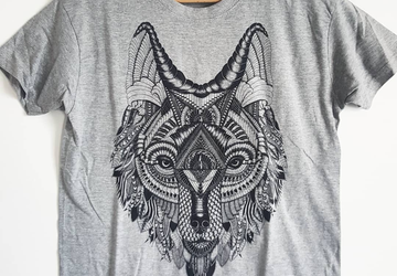 Wolf T-shirt, Wolf men T-shirt, Wolf women T-shirt, Wolf birthday, Men clothes, Women clothes, Wolf man, Wolf woman, Woodland, Wild animals