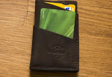 Leather Card Holder / Leather Card Wallet / Card Holder Wallet / Credit Card Holder / Outdoors gift/ Leather wallet