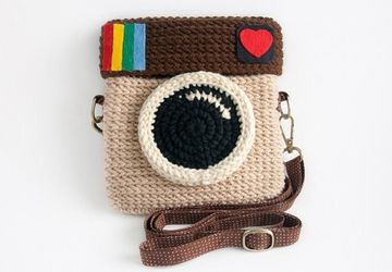 """INSTAGRAM"" handbag"