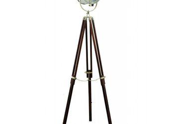 Handmade Vintage Tripod Spot Boy Lamp