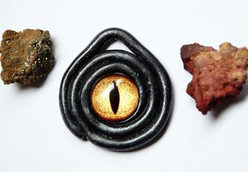 Dragon's eye amulet