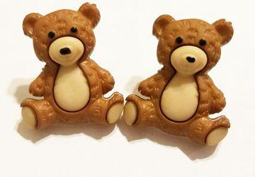 Teddy Bear Post Earrings #2