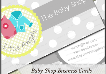 Cute Personalized Business Card Template