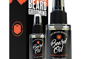 Original and Cool Mint Beard Oil | Wild Willies | Award-Winning