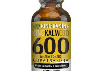 King Kalm CBD for Dogs | 600 mg CBD