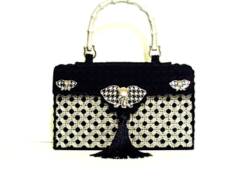 Black and Sliver Handbag