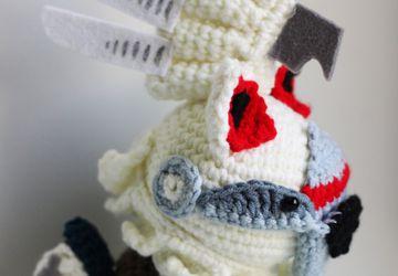 Silvally Pokemon Sun and Moon Alola Chibi Plushie Amigurumi Stuffed Toy Doll Handmade Softies Gift Baby Crochet Knit Inspired Plush
