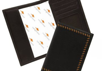 Passport cover CANGURIONE 3308-002 DP Brown