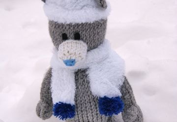 Teddy Bear in the fur
