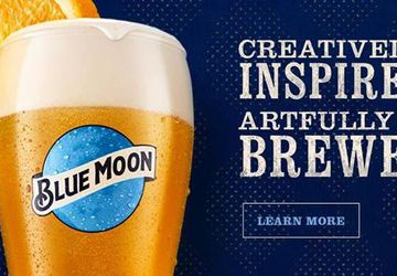 Blue Moon Paint Your Pint