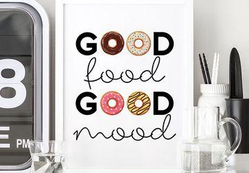 Donut wall art, donut art