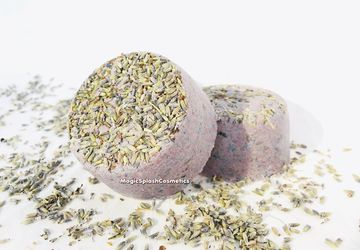 Lavender Bath Bombs, Set of 3