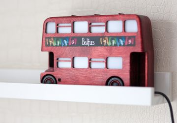 "Nightlight ""London bus"""