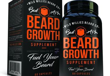 Wild Willies Beard Growth Supplements | 100% Blend of Natural Ingredients