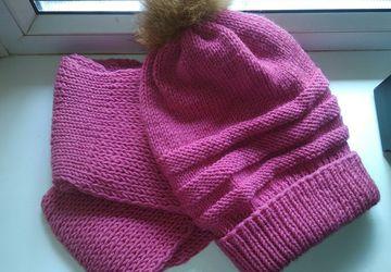 A pink winter set
