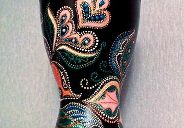 "An ornamental vase ""Southern Fantasy"""