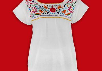 Embroidered Blouse | Mexican Blouses For Women