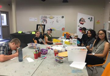 Youth Art Council: Leaf Project Planning and Building Session