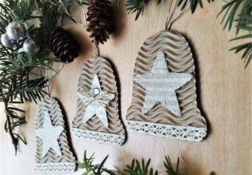 Christmas Bells Decor, Christmas Tree Ornaments,