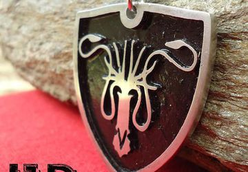 Grayjoy Pendant - Grayjoy Necklace - Game of Thrones - Game of Thrones Jewelry - Grayjoy Sigil - Game of Thrones Accesories
