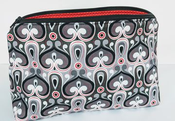 Matching Zipper Bags, Travel Case, Women's Travel Bag. Gifts under 20