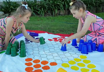 Chinese Checkers - Outdoor Giant Lawn Games