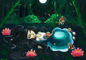 Homage to Ophelia Painting Art