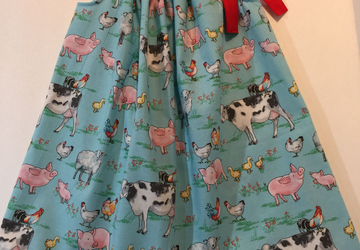 Toddler Sundress Farm Themed